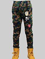 cheap -Boys' Daily Print Pants, Rayon Spring Fall Casual Green