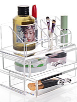 cheap -Cosmetics Storage Multi-function Easy to Use High Quality Storage Fashion Plastic 1pc - For Home Everyday Use Bathroom Multifunction Bath