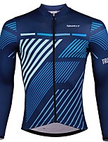 cheap -SPAKCT Long Sleeves Cycling Jersey - Blue Bike