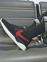 economico -Per uomo Scarpe PU (Poliuretano) Autunno Inverno Comoda Sneakers per All'aperto Nero Grigio Marrone
