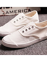 cheap -Men's Shoes Canvas Spring Fall Comfort Sneakers for Casual White Black Gray
