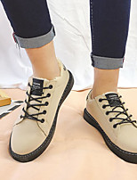 cheap -Men's Shoes Pigskin Winter Comfort Sneakers for Casual Black Green Khaki