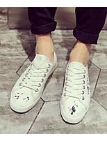 abordables -Homme Chaussures Polyuréthane Printemps Automne Confort Basket pour Décontracté Blanc