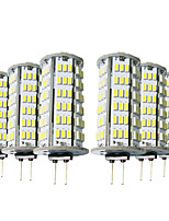 cheap -YWXLIGHT® 6pcs 5W 400-500 lm G4 LED Bi-pin Lights T 126 leds SMD 3014 Warm White Cold White 12V DC 12-24V