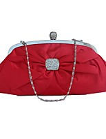 cheap -Women's Bags Silk Evening Bag Bow(s) for Wedding Event/Party Spring All Seasons Red