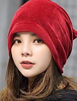 cheap -Women's Vintage Cotton Floppy Hat - Solid Colored