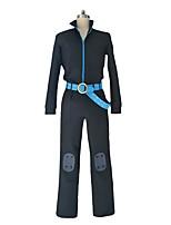 baratos -Inspirado por One Piece Sanji Fantasias Anime Fantasias de Cosplay Ternos de Cosplay Outro Manga Longa Blusa Calças Luvas Cinto Para