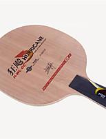 economico -DHS® Hurricane H-WL-GC CS Ping-pong Racchette Indossabile Duraturo di legno Fibra di carbonio 2 + 2 + GC 1
