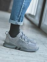 Недорогие -Муж. обувь Полотно Зима Резиновые сапоги Кеды для Повседневные Черный Серый Миндальный