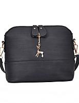 cheap -Women's Bags PU Shoulder Bag Zipper for Outdoor Blushing Pink / Gray / Brown