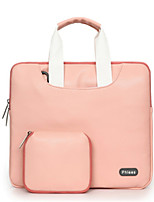 cheap -Handbags for Solid Color PU Leather Macbook Pro 13-inch