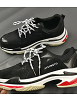 cheap -Men's Shoes Synthetic Spring Fall Comfort Sneakers for Casual Outdoor Black