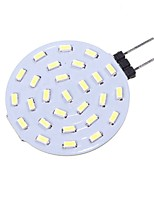 abordables -SENCART 1pc 1.5W 160 lm G4 LED à Double Broches T 27 diodes électroluminescentes SMD 4014 Décorative Blanc Chaud Blanc 12V
