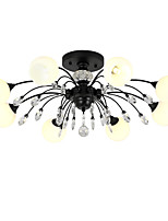 cheap -LightMyself™ Chandelier Pendant Light Ambient Light - Matte Crystal, Traditional / Classic Modern / Contemporary, 110-120V 220-240V, Warm