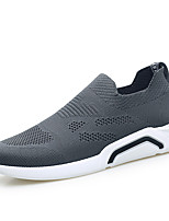 cheap -Men's Shoes Knit Spring Fall Comfort Sneakers for Casual Black Gray