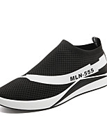 cheap -Men's Shoes Fabric Spring Summer Comfort Sneakers for Casual Black