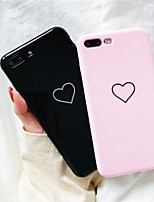 cheap -Case For Apple iPhone X / iPhone 8 Plus / iPhone 8 Pattern Back Cover Heart Soft TPU