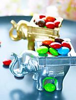 Недорогие -Новинки Слон Другие материалы Фавор держатель с Держатели для табличек Коробочки Мешочки Сувенирные шкатулки Декорации Подарочные коробки