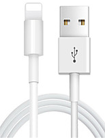 cheap -Lightning USB Cable Adapter Quick Charge High Speed Cable For iPhone 100 cm PVC