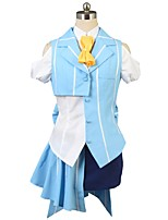 cheap -Inspired by Macross Frontier Cosplay Anime Cosplay Costumes Cosplay Suits Other Short Sleeves Cravat Shirt Top Bow More Accessories Hat