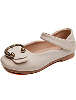 cheap -Girls' Shoes PU Leather Spring Summer Comfort Flats for Casual Dress Beige Pink Light Blue