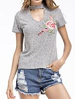 cheap -Women's Cute Cotton T-shirt Halter