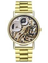 cheap -Women's Chinese Chronograph / Large Dial / Moon Phase Stainless Steel Band Fashion Gold