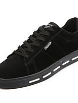 cheap -Men's Shoes Rubber Spring Fall Comfort Sneakers for Outdoor Black Gray Almond Khaki