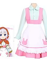 abordables -Inspiré par La fille de dragon de Miss Kobayashi Cosplay Manga Costumes de Cosplay Costumes Cosplay Robes Autre Manches Longues Cache-col