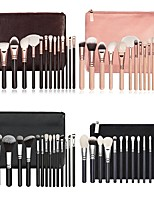 cheap -15pcs Professional Makeup Brushes Makeup Brush Set / Powder Brush / Eyeshadow Brush Synthetic Hair Eco-friendly / Professional / Soft Wood
