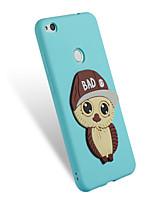 """economico -Custodia Per Huawei P8 Lite (2017) P10 Lite Fantasia/disegno Fai da te Per retro Fantasia """"Gufo"""" Morbido TPU per P10 Lite P8 Lite (2017)"""