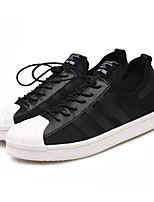 cheap -Men's Shoes Fabric Spring Fall Light Soles Sneakers for Casual Black Burgundy
