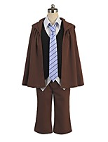 cheap -Inspired by Bungo Stray Dogs Cosplay Anime Cosplay Costumes Cosplay Suits Other Long Sleeves Coat Vest Blouse Pants Tie Hat For Men's