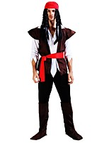 cheap -Pirates of the Caribbean Outfits Men's Women's Halloween Carnival Day of the Dead Masquerade Birthday New Year Festival / Holiday