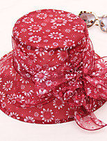 cheap -Women's Cute Sun Hat - Solid Colored Lace