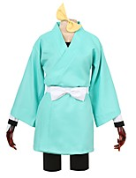 cheap -Inspired by Cosplay Other Anime Cosplay Costumes Cosplay Suits Other Long Sleeves Pants More Accessories T-shirt Kimono Coat For Men's