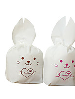 cheap -Rabbit irregular Plastic Favor Holder with Pattern / Print Favor Bags - 1set