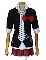 cheap -Inspired by Dangan Ronpa Junko Enoshima Cosplay Anime Cosplay Costumes Cosplay Suits Other Half Sleeves Coat Shirt Skirt Bow Tie For