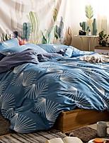 abordables -Ensembles housse de couette Fleur 3 Pièces Polyester/Coton 100% Coton Imprimé Polyester/Coton 100% Coton 1 x Housse de couette 1 x Taie