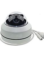 abordables -caméra ip de sécurité zoneway® hd 1080p ptz poe avec zoom optique 3x panoramique / inclinaison / zoom motorisé 3x style dôme pour l'installation de