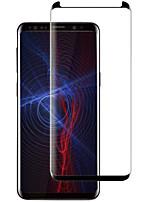 baratos -Protetor de Tela Samsung Galaxy para S9 Plus Vidro Temperado 1 Pça. Protetor de Tela Integral Borda Arredondada 3D Resistente a Riscos