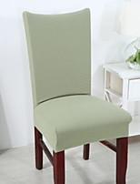 baratos -Cobertura de Cadeira Sólido Estampado Elastano Capas de Sofa
