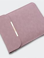 Недорогие -Рукава для Сплошной цвет Кожа PU MacBook Air, 13 дюймов MacBook Pro, 13 дюймов