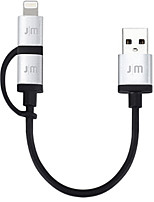 cheap -Lightning Micro USB USB Cable Adapter Quick Charge High Speed Cable For iPhone 10 cm TPE