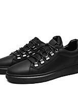 cheap -Men's Shoes Synthetic Microfiber PU Cowhide Leatherette Spring Comfort Sneakers for Casual Outdoor Black Gray