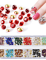cheap -1 Outfits Rhinestones Nail Jewelry Nail Glitter Bling Bling Crystal/Rhinestone Event/Party Daily Nail Art Design