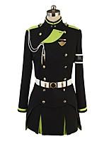 economico -Ispirato da Seraph della Fine Cosplay Anime Costumi Cosplay Abiti Cosplay Altro Manica lunga Top Gonna Guanti Altri accessori Per Per