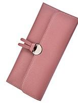 cheap -Women's Bags PU Wallet Buttons for Event / Party / Shopping Dark Green / Light Gray / Navy Blue