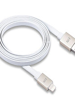 cheap -Lightning USB Cable Adapter Quick Charge High Speed Flat Cable For iPhone 120 cm PVC