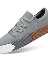 cheap -Men's Shoes Nubuck leather Winter Fall Comfort Sneakers for Casual Black Gray Khaki
